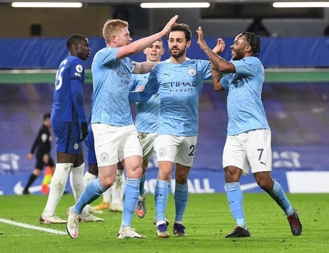 Chelsea 1-3 Man City: Hai phút, hai bàn thắng - 11