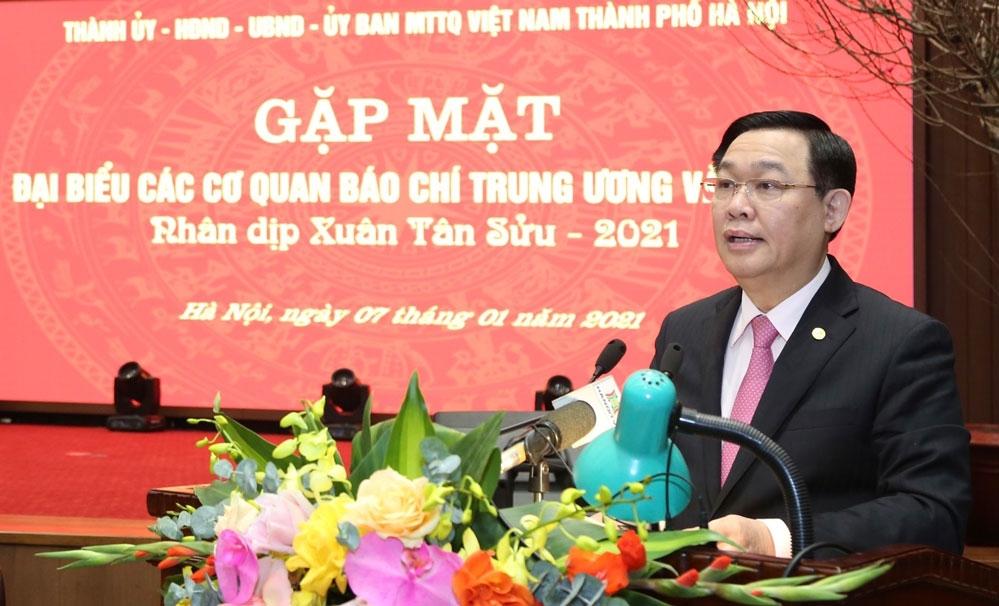 """Hà Nội sẽ xây dựng một """"ngôi nhà chung"""" cho báo chí Trung ương và thành phố"""