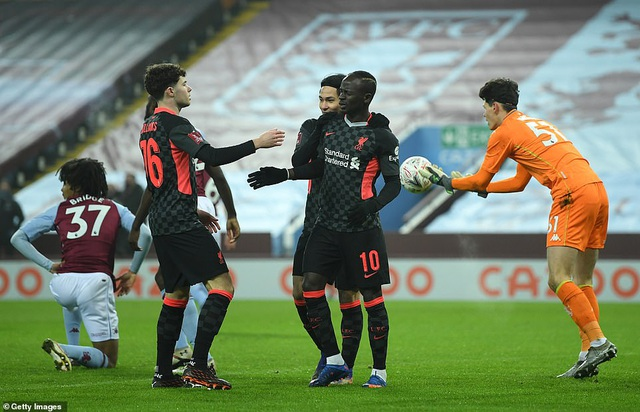Liverpool phục hận thất bại 2-7 trước Aston Villa - 2