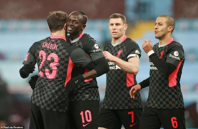 Liverpool phục hận thất bại 2-7 trước Aston Villa - 1