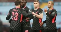 Liverpool phục hận thất bại 2-7 trước Aston Villa