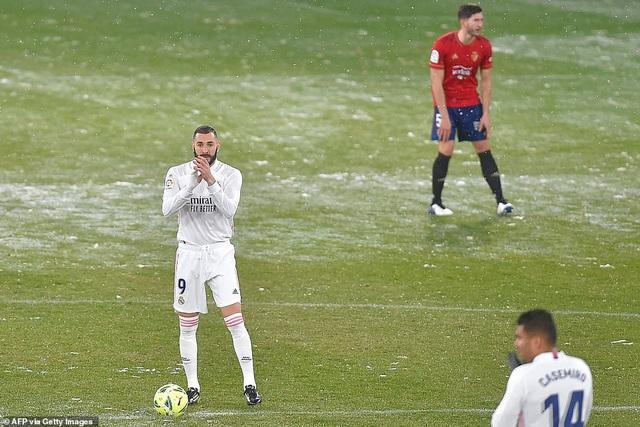 Hòa thất vọng, Real Madrid có nguy cơ bị Atletico bỏ xa - 1