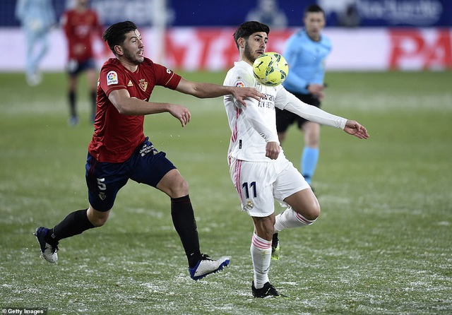 Hòa thất vọng, Real Madrid có nguy cơ bị Atletico bỏ xa - 3