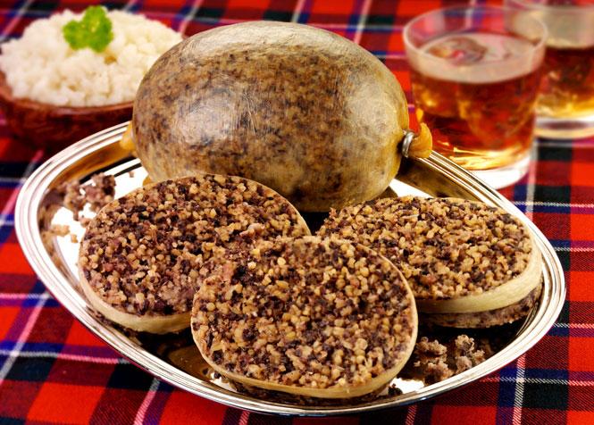 Độc đáo ẩm thực lễ hội Hogmanay
