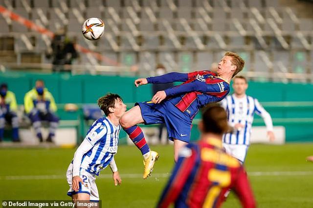 Barcelona vượt ải Sociedad sau màn đấu súng nghẹt thở - 2