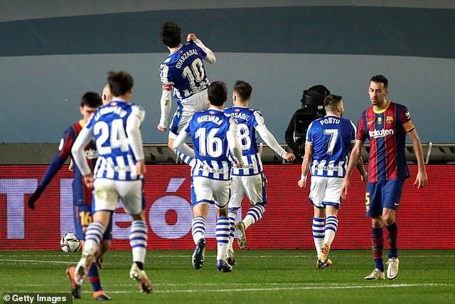 Barcelona vượt ải Sociedad sau màn đấu súng nghẹt thở - 3
