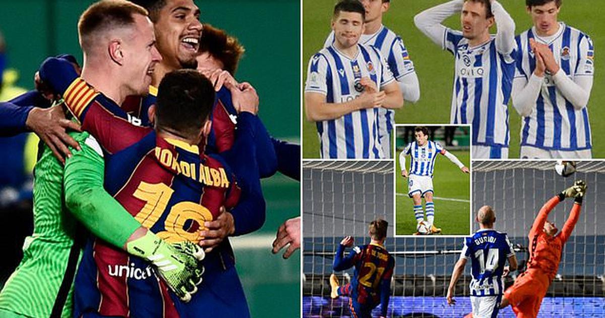 """Barcelona vượt ải Sociedad sau màn """"đấu súng"""" nghẹt thở"""