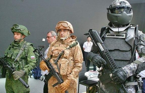 Nga phát triển công nghệ giáp mới cho người lính tương lai