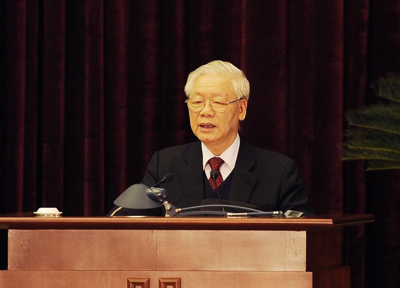 Phát biểu của Tổng Bí thư, Chủ tịch nước Nguyễn Phú Trọng bế mạc Hội nghị Trung ương 15