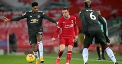 Liverpool 0-0 Man Utd: Chia điểm, ghìm chân nhau