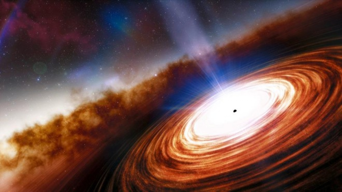Phát hiện chuẩn tinh và siêu hố đen xa nhất từ trước đến nay