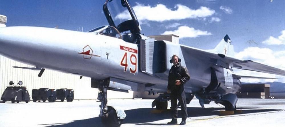 Chiếc MiG-23 của phi đội Kiểm tra và Đánh giá số 4477 (Nguồn: RBTH)