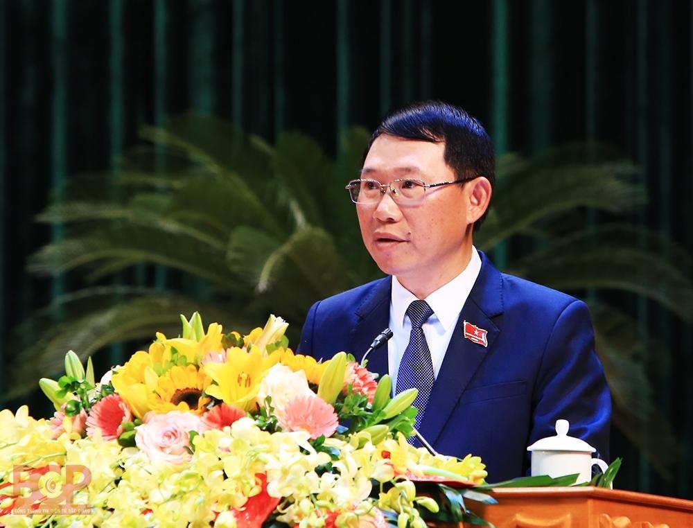 Ông Lê Ánh Dương - Phó Bí thư Tỉnh ủy, Chủ tịch UBND tỉnh Bắc Giang (Ảnh: Cổng thông tin Bắc Giang)
