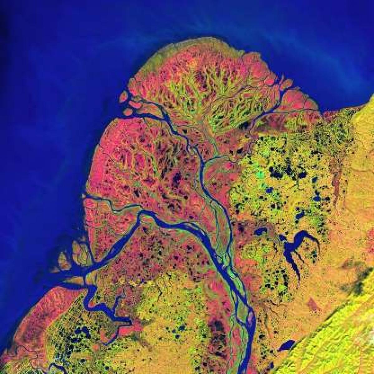 Bức ảnh ấn tượng của Đồng bằng Yukon qua vệ tinh quan sát Landsat của NASA đã cho thấy vẻ đẹp siêu thực của hành tinh chúng ta.