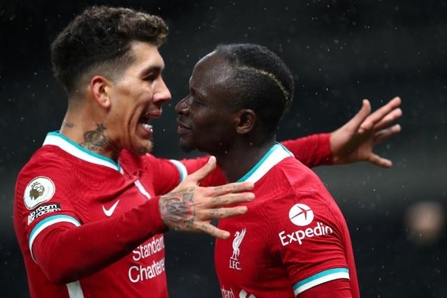 Tottenham 1-3 Liverpool: Nhà đương kim vô địch trở lại Top 4