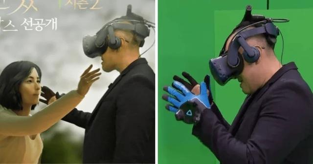 Rơi nước mắt khoảnh khắc chồng gặp lại vợ đã mất nhờ công nghệ thực tế ảo