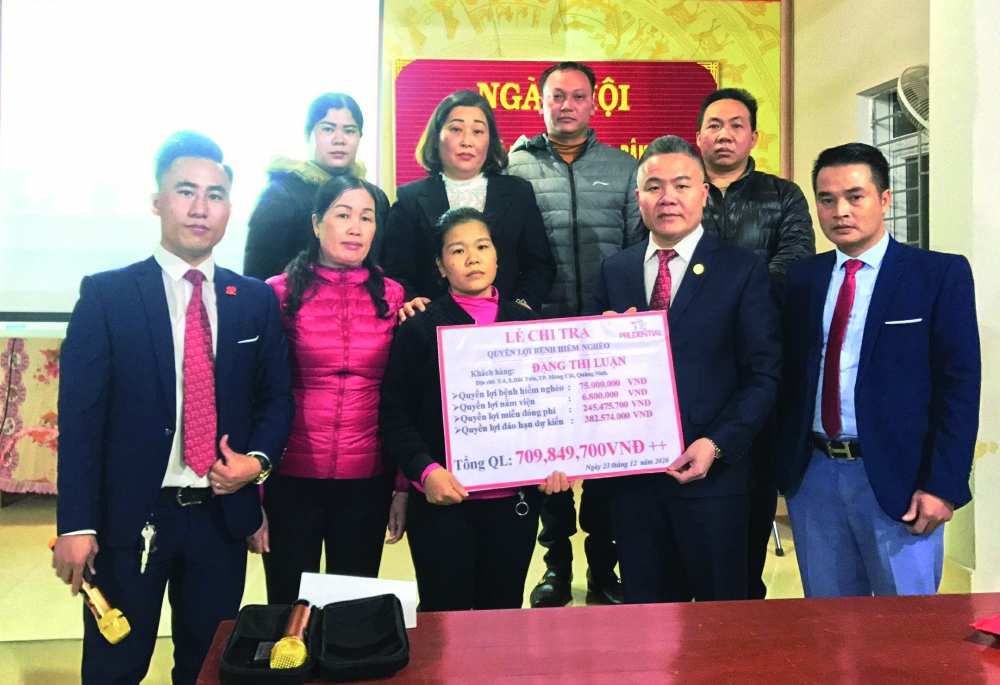 VPTĐL Prudential tại Quảng Ninh: chung sức vì cộng đồng, đón chào tương lai mới