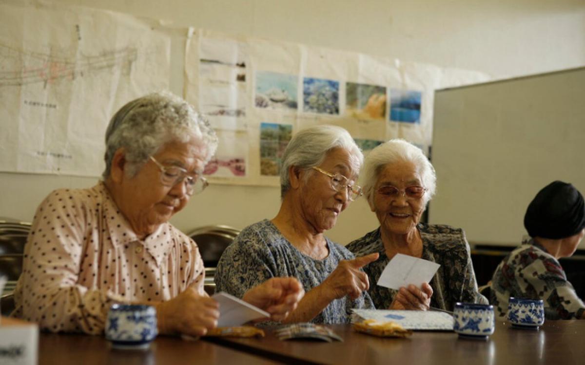Những người cao tuổi tại đảo Okinawa, Nhật Bản đều sống rất khỏe mạnh. Ảnh minh họa: Getty
