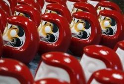 Búp bê Daruma - Biểu tượng may mắn của người dân Nhật Bản
