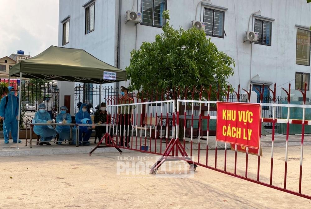 Bắc Giang cách ly y tế tập trung người về từ Hải Phòng