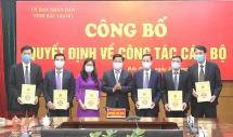 Bắc Giang: Điều động, bổ nhiệm nhiều cán bộ lãnh đạo