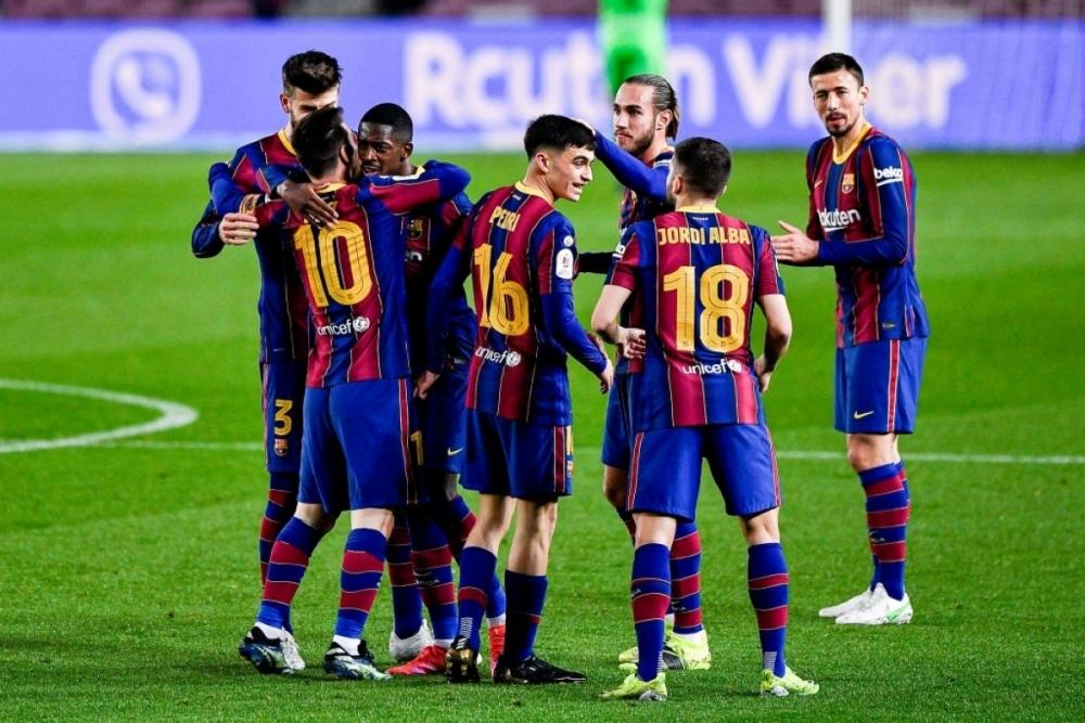Barca vào chung kết Cúp nhà Vua Tây Ban Nha