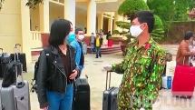 Nhập cảnh từ 26 nước, 263 công dân Việt Nam được trở về nhà sau khi cách ly tại tỉnh Bắc Giang