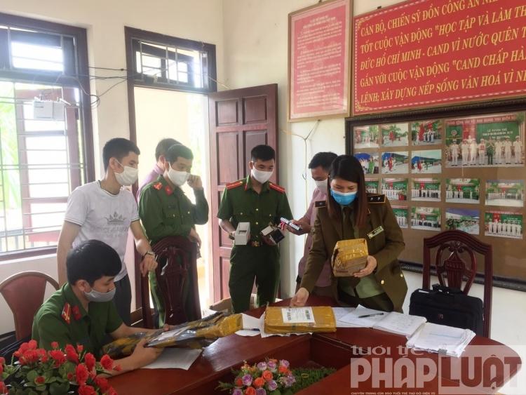 Bắc Giang: Phạt và tịch thu hàng hóa giả mạo, không rõ nguồn gốc trị giá hơn 80 triệu đồng