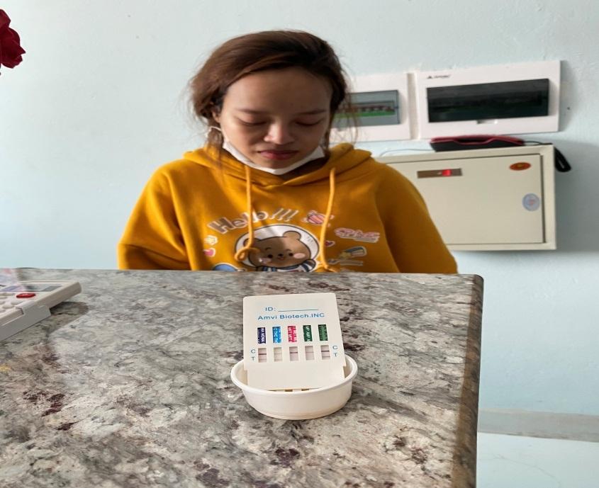 Bắc Giang: Phát hiện nữ đối tượng sử dụng ma tuý tại huyện Tân Yên