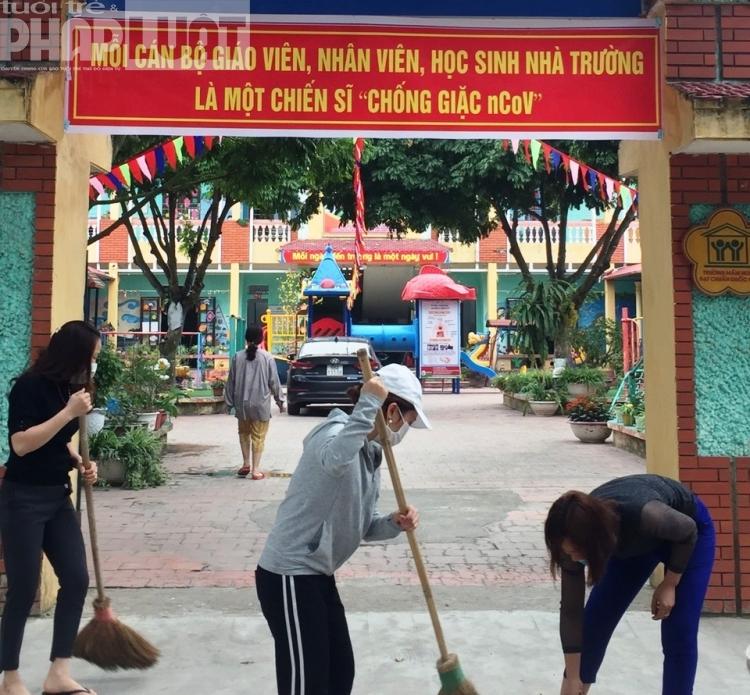 Việt Yên - Bắc Giang sẵn sàng đón học sinh trở lại trường từ 4/5/2020