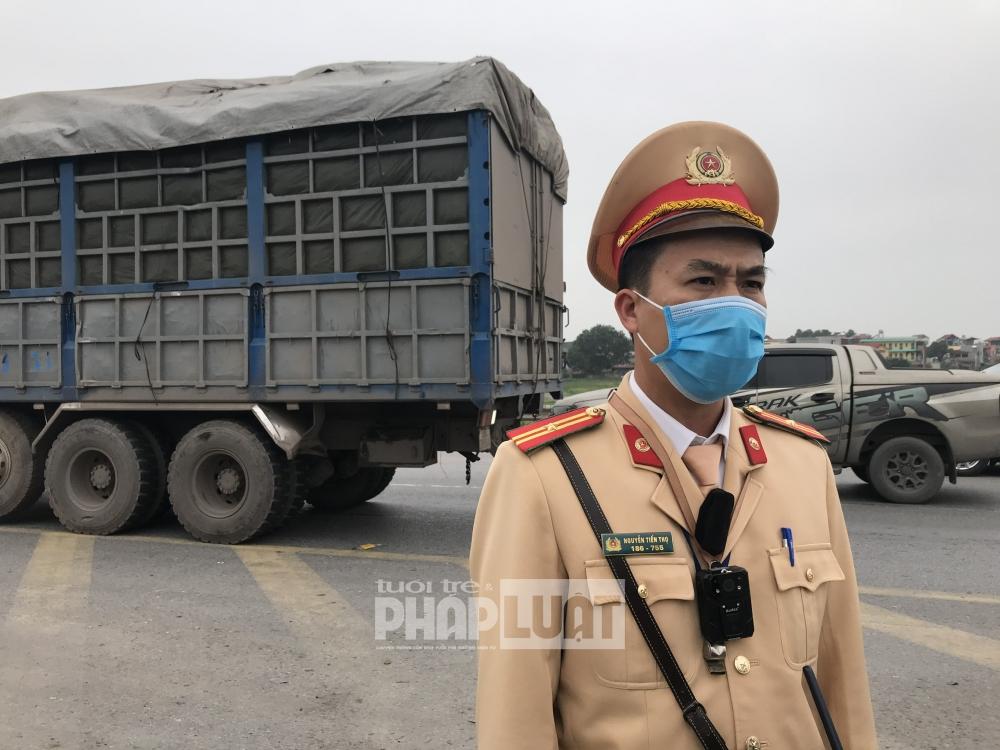 Công an Bắc Giang tăng cường tuần tra, kiểm soát, xử lý vi phạm giao thông đường bộ