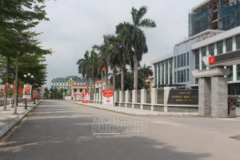 Huyện cuối cùng của tỉnh Bắc Giang dỡ bỏ cách ly xã hội