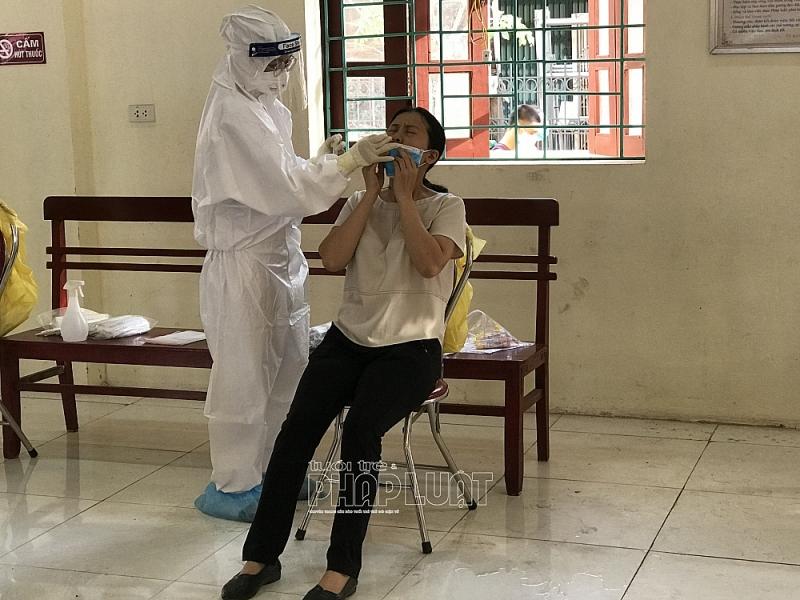 Lấy mẫu xét nghiệm SARS-CoV-2 trong cộng đồng tại tỉnh Bắc Giang