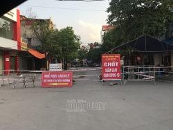 Bắc Giang thực hiện giãn cách xã hội huyện Tân Yên