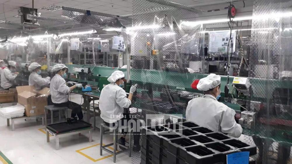 Bắc Giang: 24 doanh nghiệp đã được cho phép hoạt động trở lại tại 4 khu công nghiệp