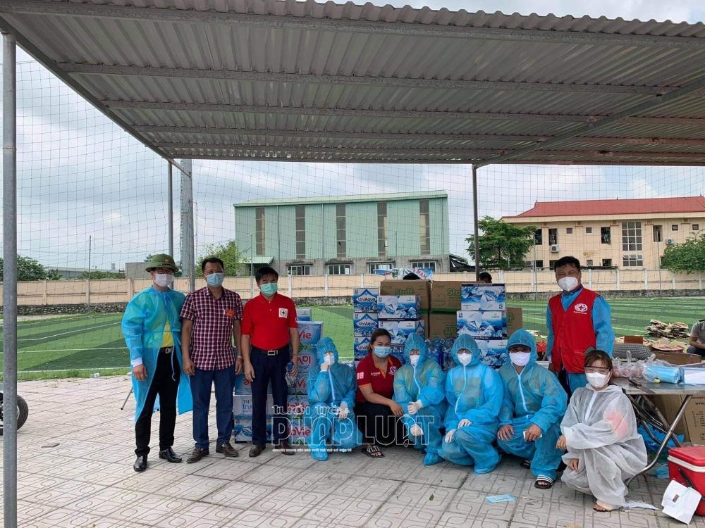 Hội Chữ thập đỏ Bắc Giang kết nối yêu thương giữa tâm dịch Covid-19