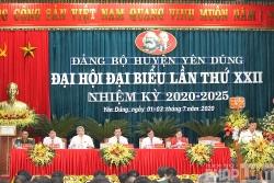 Tỉnh Bắc Giang tổ chức điểm Đại hội Đảng bộ cấp huyện
