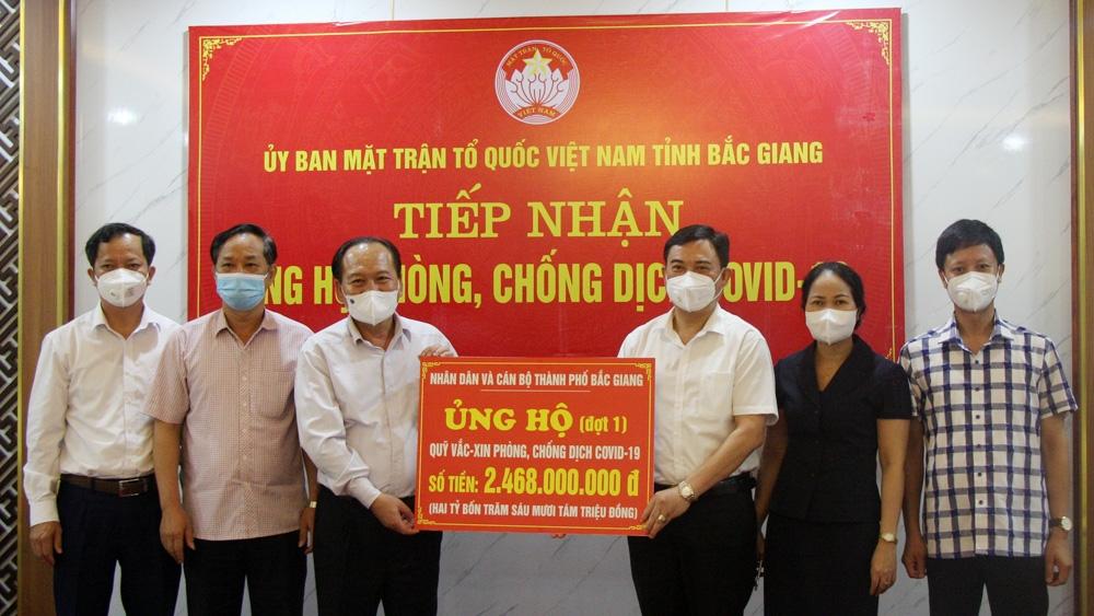 """Bắc Giang tăng tốc sau bão """"Covid-19"""""""