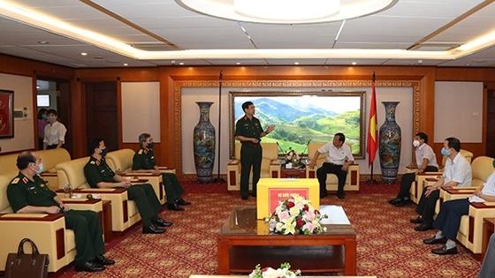 Đại tướng Phan Văn Giang tri ân các tướng lĩnh nguyên là lãnh đạo Đảng, Nhà nước, Bộ Quốc phòng và thăm Hội Cựu chiến binh Việt Nam