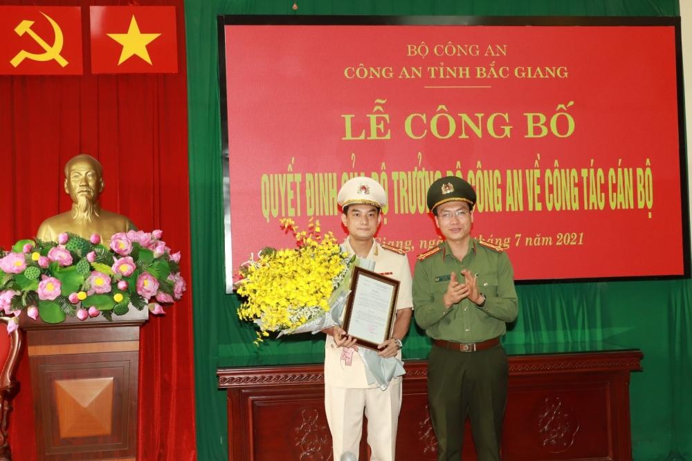 Công an Bắc Giang tăng cường đội ngũ lãnh đạo, bổ nhiệm thêm một Phó Giám đốc Công an tỉnh