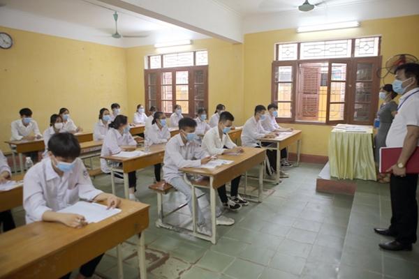 Bắc Giang: 428 bài thi đạt điểm 10 trong kỳ thi tốt nghiệp THPT đợt 1 năm 2021