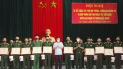 Thắm tình quân dân trong mùa vải thiều 2021 tại huyện Lục Ngạn