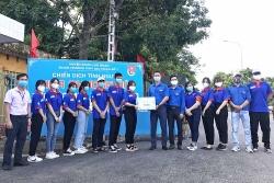 Tỉnh Đoàn Bắc Giang xã hội hóa 419,9 triệu tiếp sức mùa thi