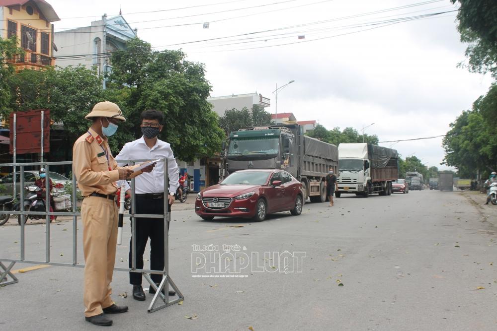 Bắc Giang lập 7 chốt liên tỉnh phòng, chống Covid-19