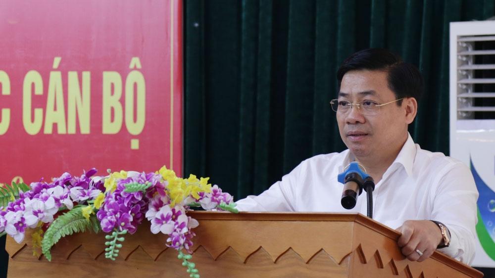 Bắc Giang: ông Nguyễn Văn Dũng được bổ nhiệm giữ chức Bí thư huyện Ủy Việt Yên