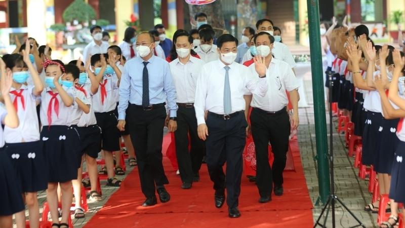 Hơn 400 nghìn học sinh Bắc Giang dự Lễ khai giảng năm học mới 2021-2022