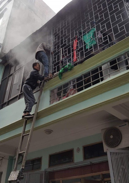 Kỹ năng thoát hiểm khi xẩy ra cháy nhà