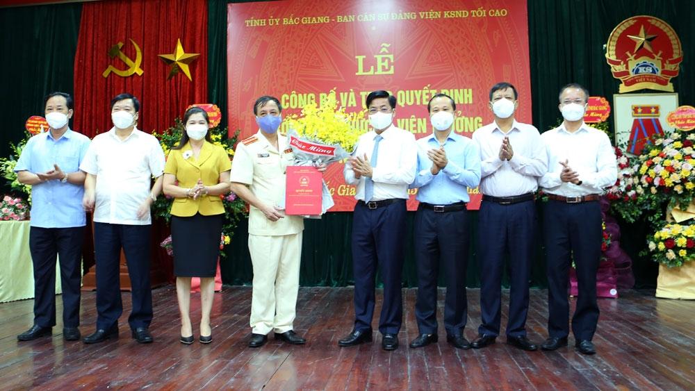 Bắc Giang có Tân Viện trưởng Viện Kiểm sát nhân dân