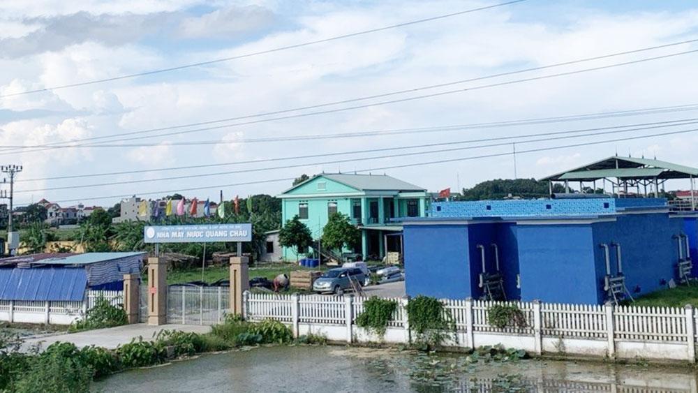 Công ty TNHH MTV Xây dựng và Cấp nước Hà Bắc bị thu hồi 15 công trình nước sạch tại Bắc Giang