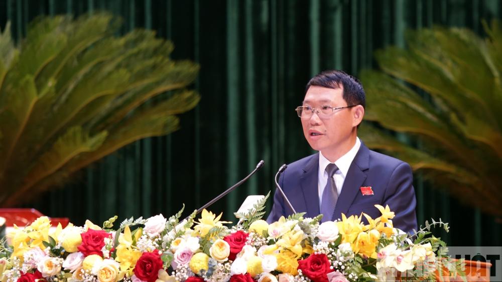 Đồng chí Dương Văn Thái được bầu giữ chức Bí thư tỉnh ủy Bắc Giang nhiệm kỳ 2020-2025